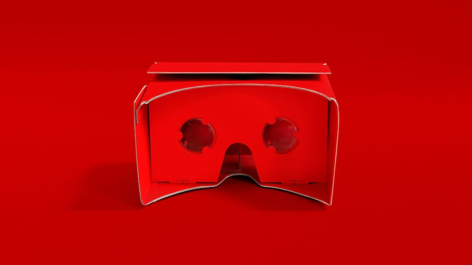 The Robin Schulz 360° Mailing as Cardboard glasses