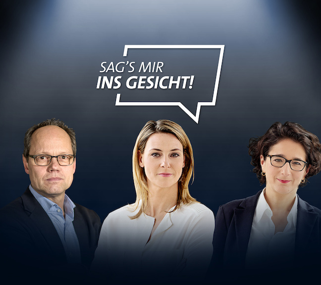 Say it to my face – a Tagesschau action against online hate speech